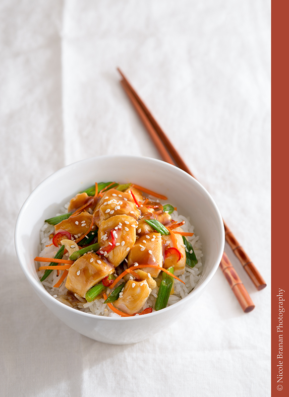 Universal stir fry sauce – great on meat, seafood and vegetables!